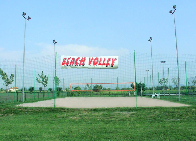 Il campo di Beach Volley